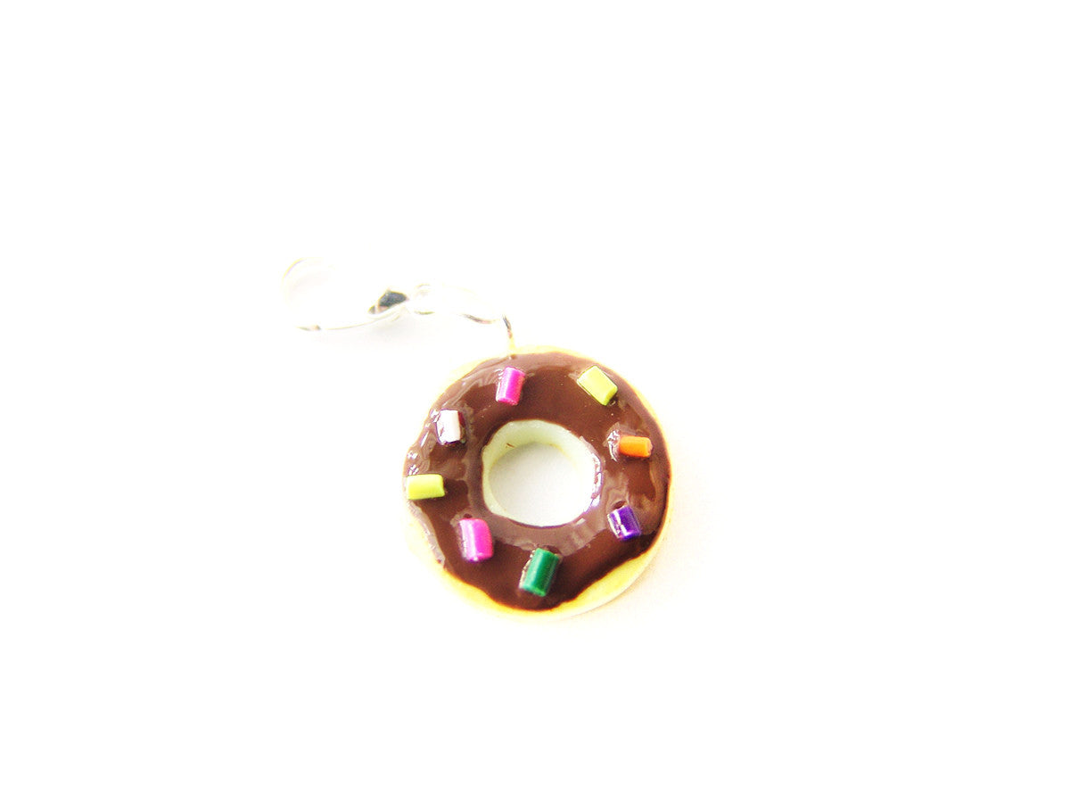 Chocolate Sprinkle Donut Cookie Charm