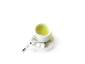 Hot Green Tea Charm
