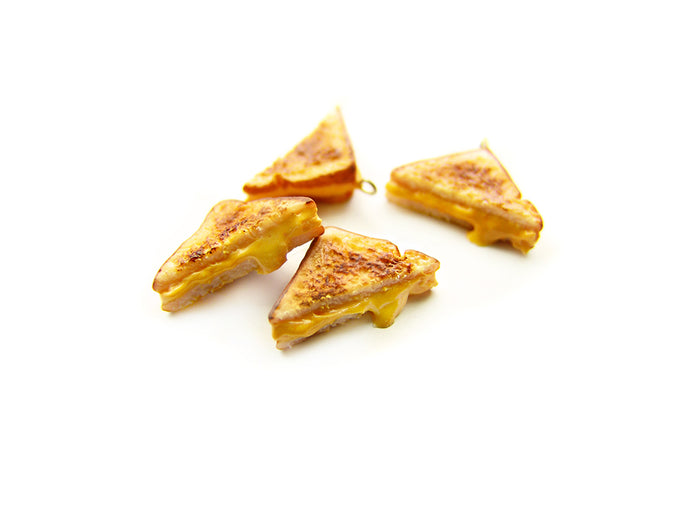 Grilled Cheese Half-Sandwich Charm - Sucre Sucre Miniatures