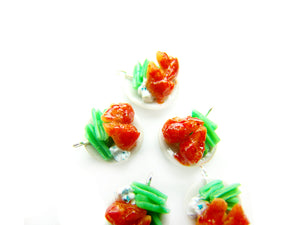 Hot Wings Charm - Sucre Sucre Miniatures