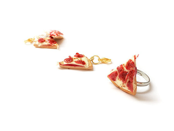 Pepperoni Pizza Ring - Sucre Sucre Miniatures