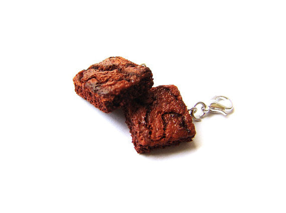 Classic Fudge Brownie Charm - Sucre Sucre Miniatures