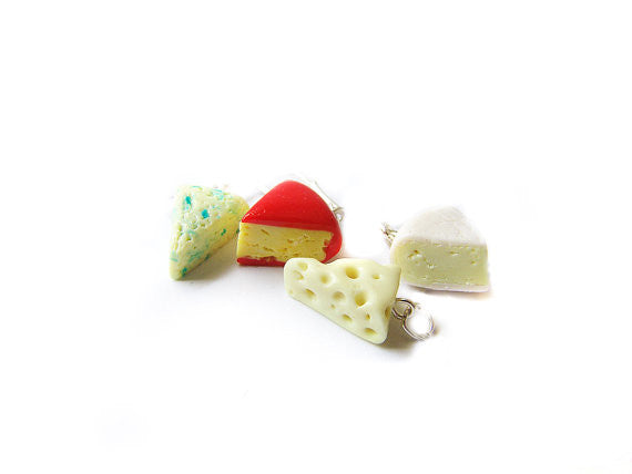 Cheese Wedge Charm Collection - Sucre Sucre Miniatures