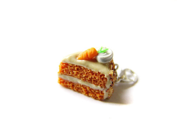 Carrot Cake Charm - Sucre Sucre Miniatures