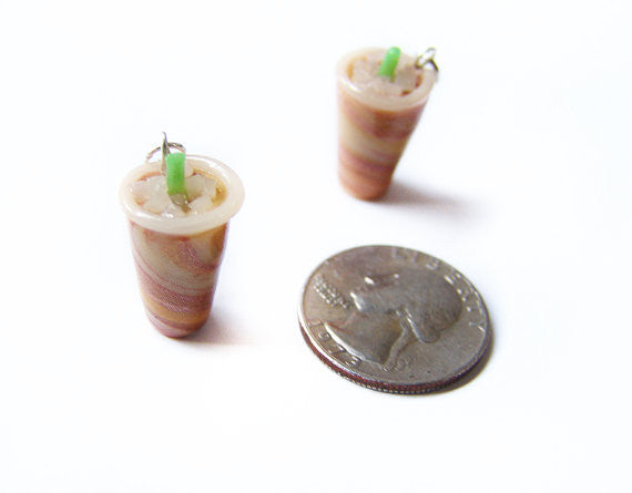 Iced Latte Coffee Charm - Sucre Sucre Miniatures