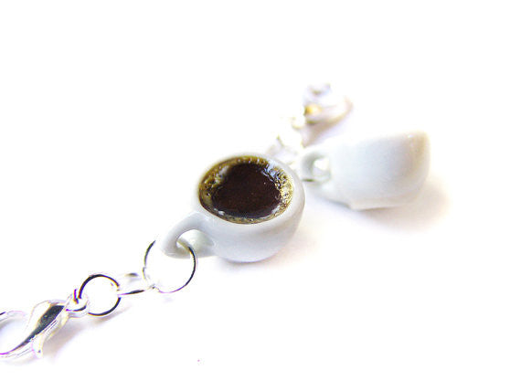 Hot Cup of Coffee Charm - Sucre Sucre Miniatures