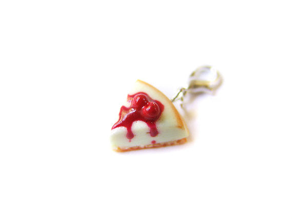 Cherry Cheesecake Charm - Sucre Sucre Miniatures