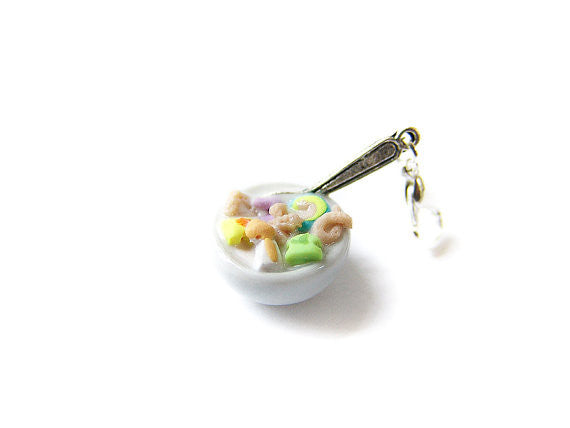 Bowl of Cereal Charm, Mashmallow - Sucre Sucre Miniatures
