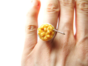 Mac and Cheese Ring - Sucre Sucre Miniatures