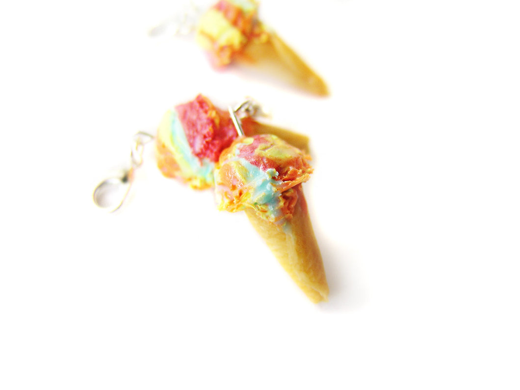 Rainbow Love Ice Cream Cone - Sucre Sucre Miniatures