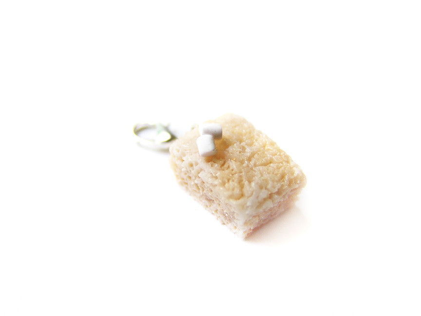 Marshmallow Rice Krispy Charm - Sucre Sucre Miniatures