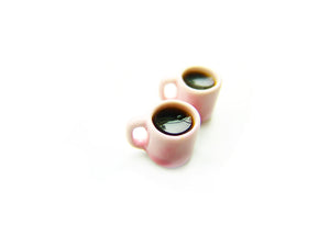 Sweetheart Diner Cup of Coffee Charm - Sucre Sucre Miniatures