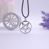 Satanic Pentagram Necklace - Hale Satin