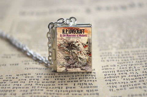 "H.P. Lovecraft Cthulhu Necklace ""At the Mountains of Madness"" - Hale Satin"