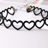 Black Heart Tattoo Choker