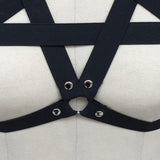 Pentagram Body Harness Close Up