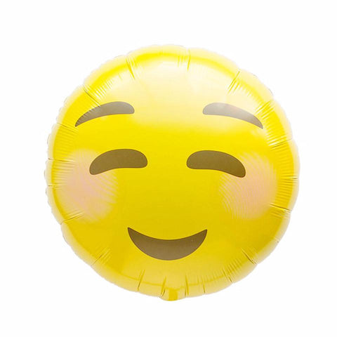 Smile Emoji folieballon - 48cm (Smiley ballon) - Oh My Dear