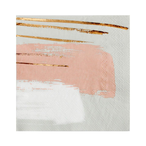 Harlow & Grey | Daydream - Watercolor Painted Stripes Napkins