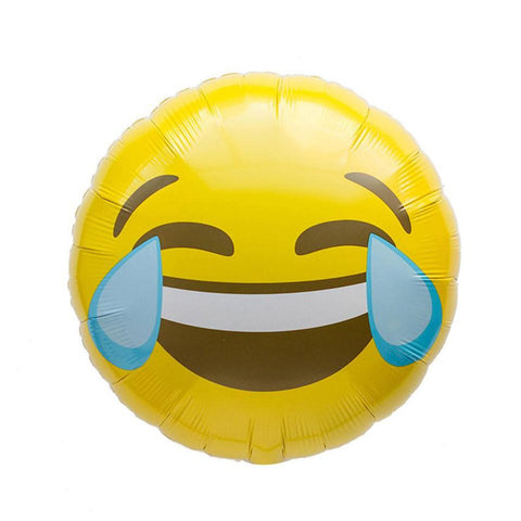 LOL Emoji folieballon - 48cm (Smiley ballon) - Oh My Dear