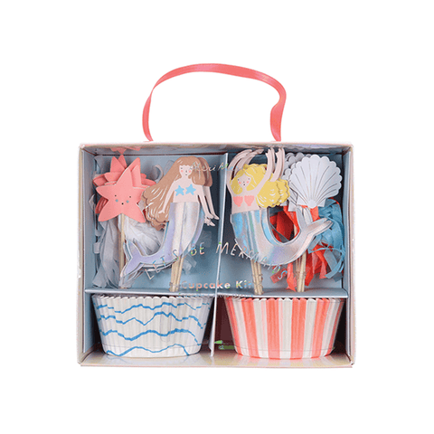 Meri Meri / Mermaids Party Cupcake Kit - Oh My Dear