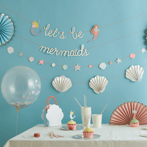 Meri Meri / Mermaid design servietten (papier) - Oh My Dear