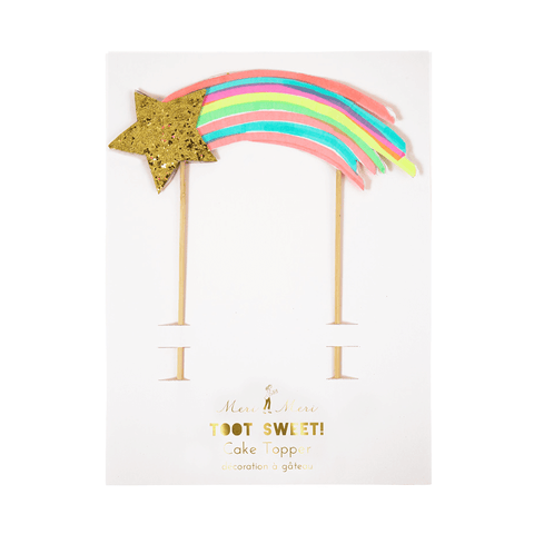 Meri Meri / Rainbow & Unicorn Cake Topper - Oh My Dear
