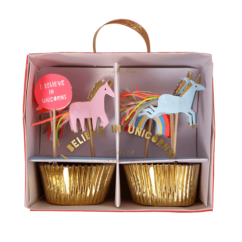 Meri Meri / Unicorn Party Cupcake Kit - Cupcake - Meri Meri