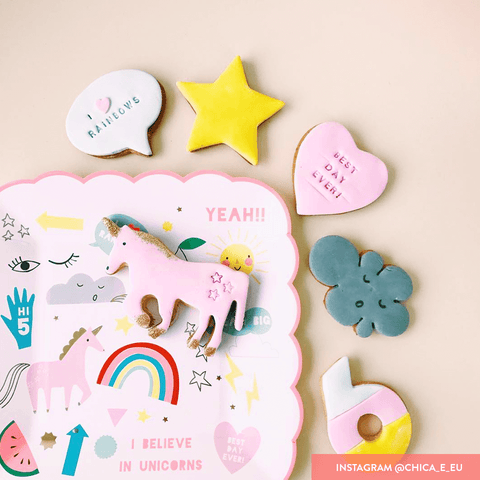 Meri Meri / Unicorn party Cookie Cutter - Oh My Dear