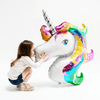 XXL Unicorn party folieballon - 83cm - Oh My Dear
