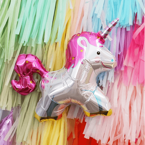 XXL Unicorn party folieballon - 91 cm - Oh My Dear