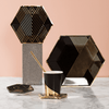 Harlow & Grey | Black & Gold kartonnen bekertjes (wegwerpservies) - Oh My Dear