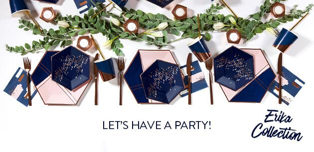 Modern party goods paper plates