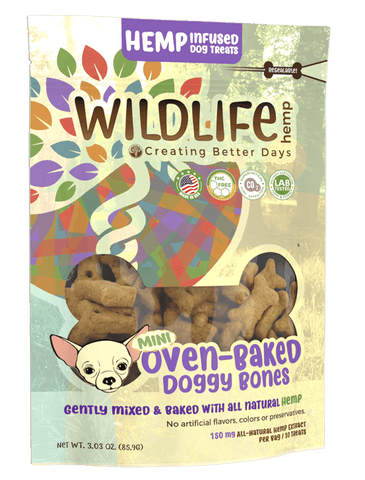 CBD - Treat - Mini Dog Bones