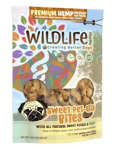 CBD - Treat - Sweet Pet-Tato Bites Premium CBD