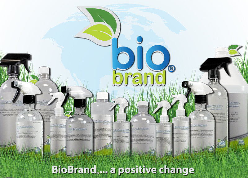 BioBrand® Eco-Certified Cleaners & Surface Coatings
