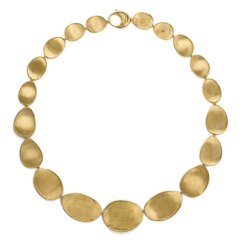 Lunaria 18ct yellow gold necklace by Marco Bicego