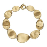 Lunaria 18ct yellow gold bracelet by Marco Bicego