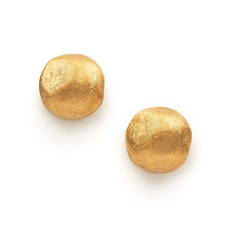 Africa 18ct yellow gold small earstuds by Marco Bicego