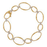 Marrakech Onde 18ct yellow gold and diamond bracelet by Marco Bicego