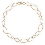Marrakech Onde 18ct yellow gold and diamond necklace by Marco Bicego