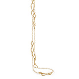 Marrakech Onde 18ct yellow gold 92cm necklace by Marco Bicego