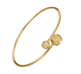 Africa 18ct yellow gold bangle by Marco Bicego