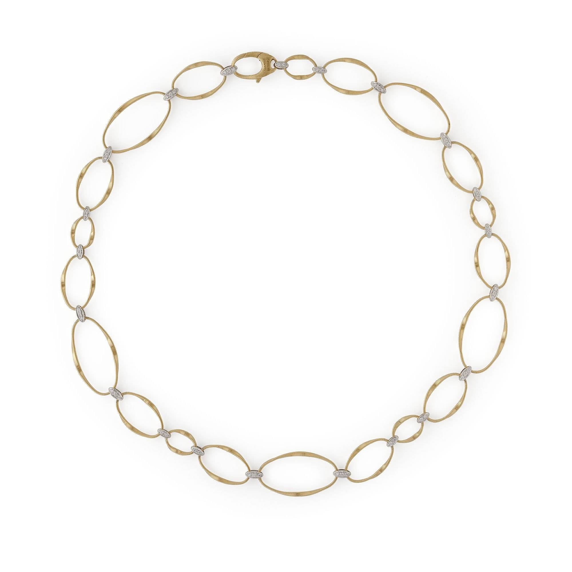 Lucia 18ct yellow gold bracelet by Marco Bicego