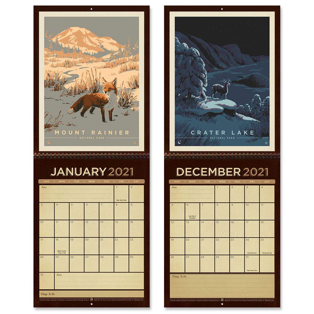 Get a Jump on Next Year with New 2021 Wall Calendars!
