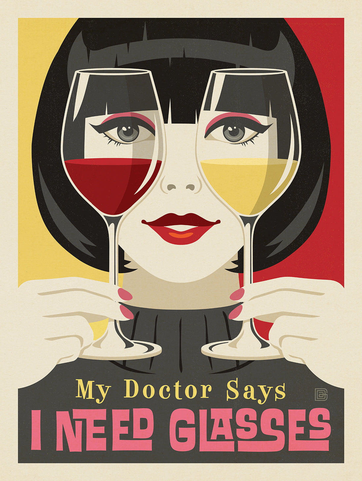 Raising a Glass to Vintage Poster Art with the Cheers to Us! Art Collection