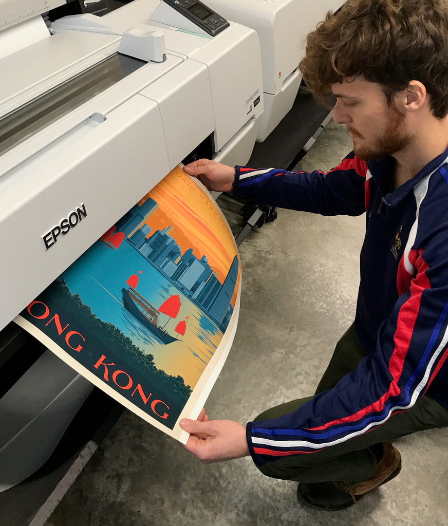 Behind the Scenes at the ADG Print Shop...