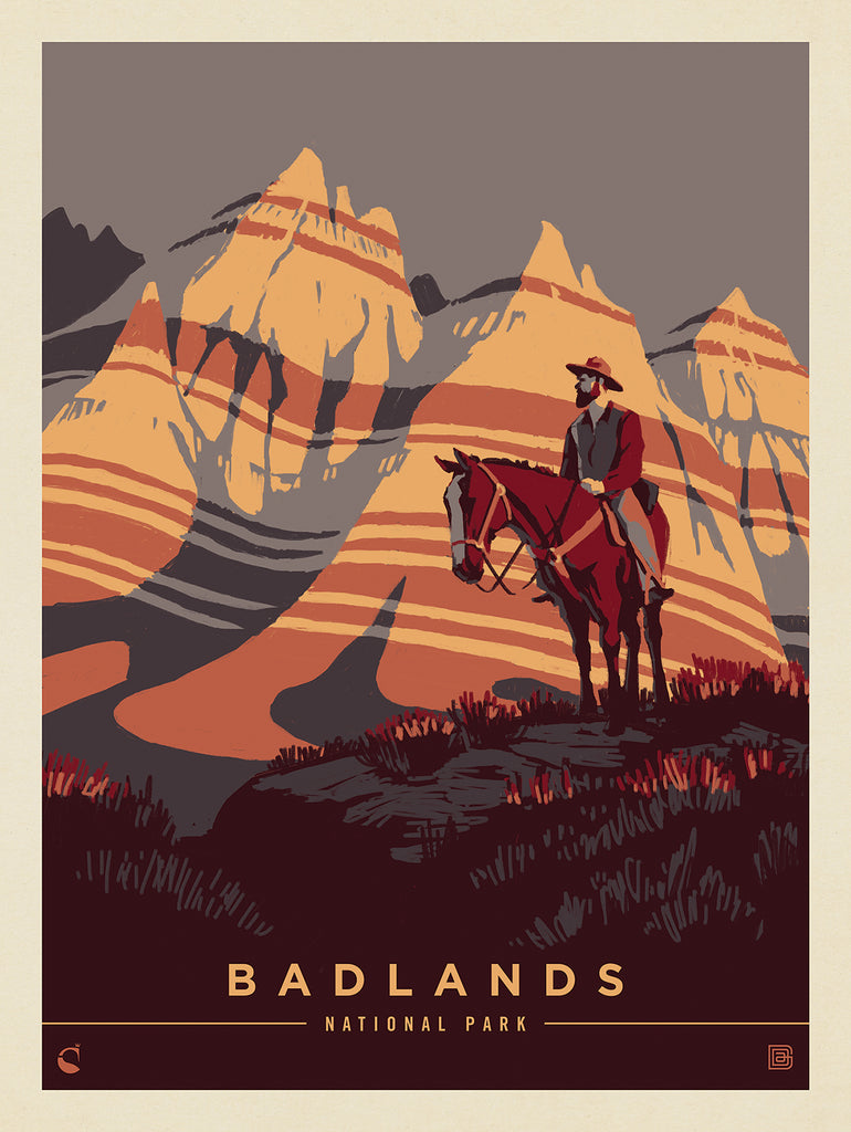 3 New Kenneth Crane National Park Posters...