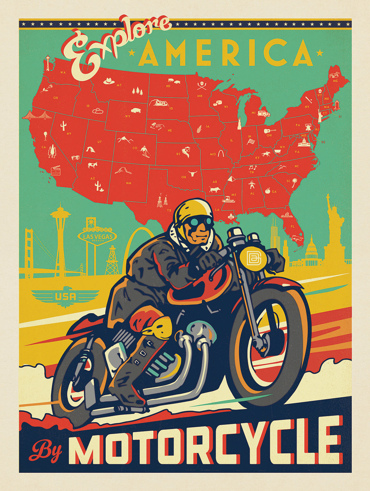 Vintage Poster Art to Inspire Your Next Road Trip
