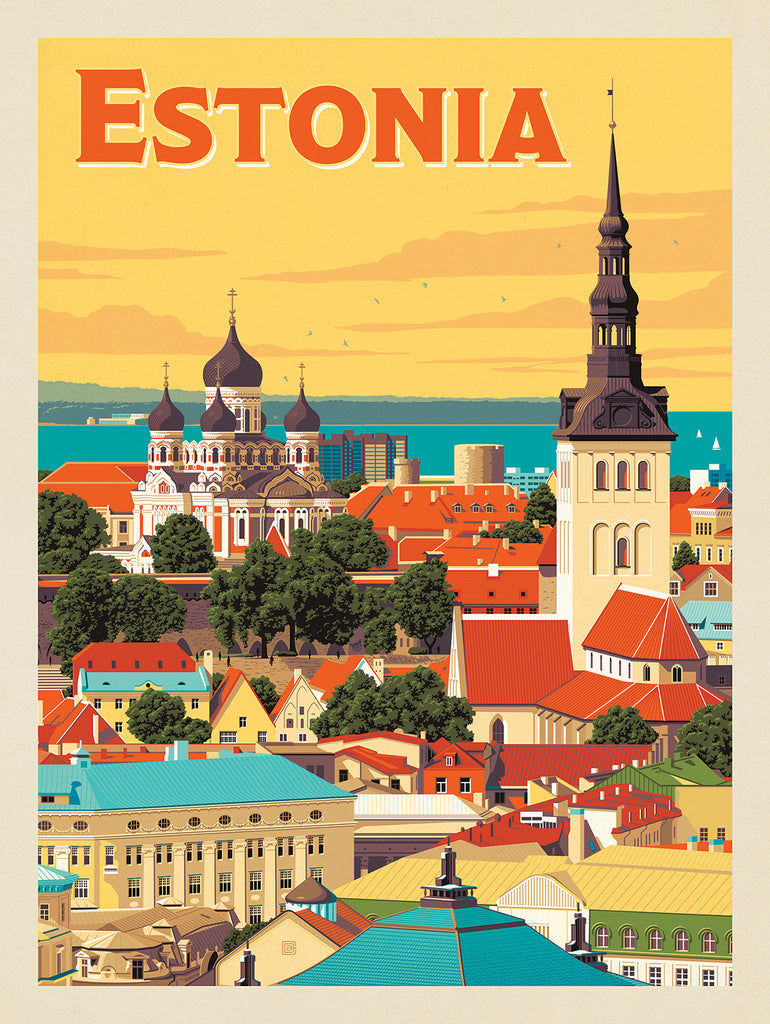 Essential Estonia (by Mike Baker)