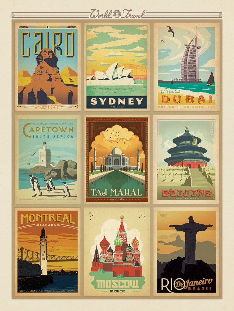 A World of Wonder - The World Travel Collection